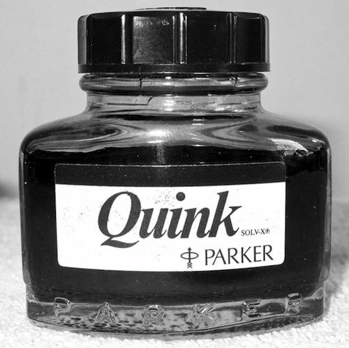 parker pen singapore quink ink