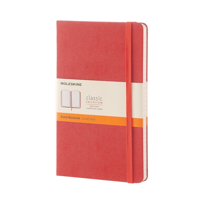 Moleskine-Singapore-Classic-Hard-Cover-Notebook-Coral-orange